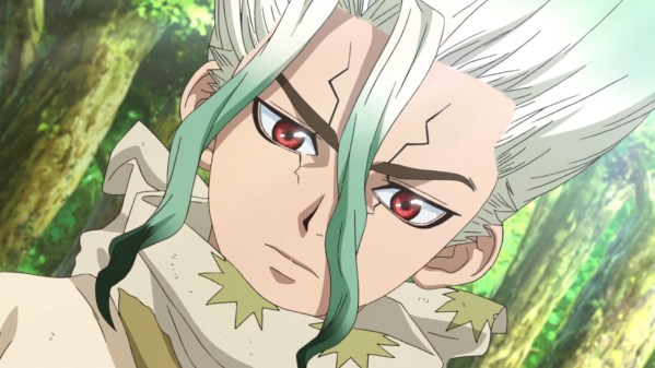 DR.STONE EP. 6 REVIEW: MYSTERIOUS BLONDE GIRL
