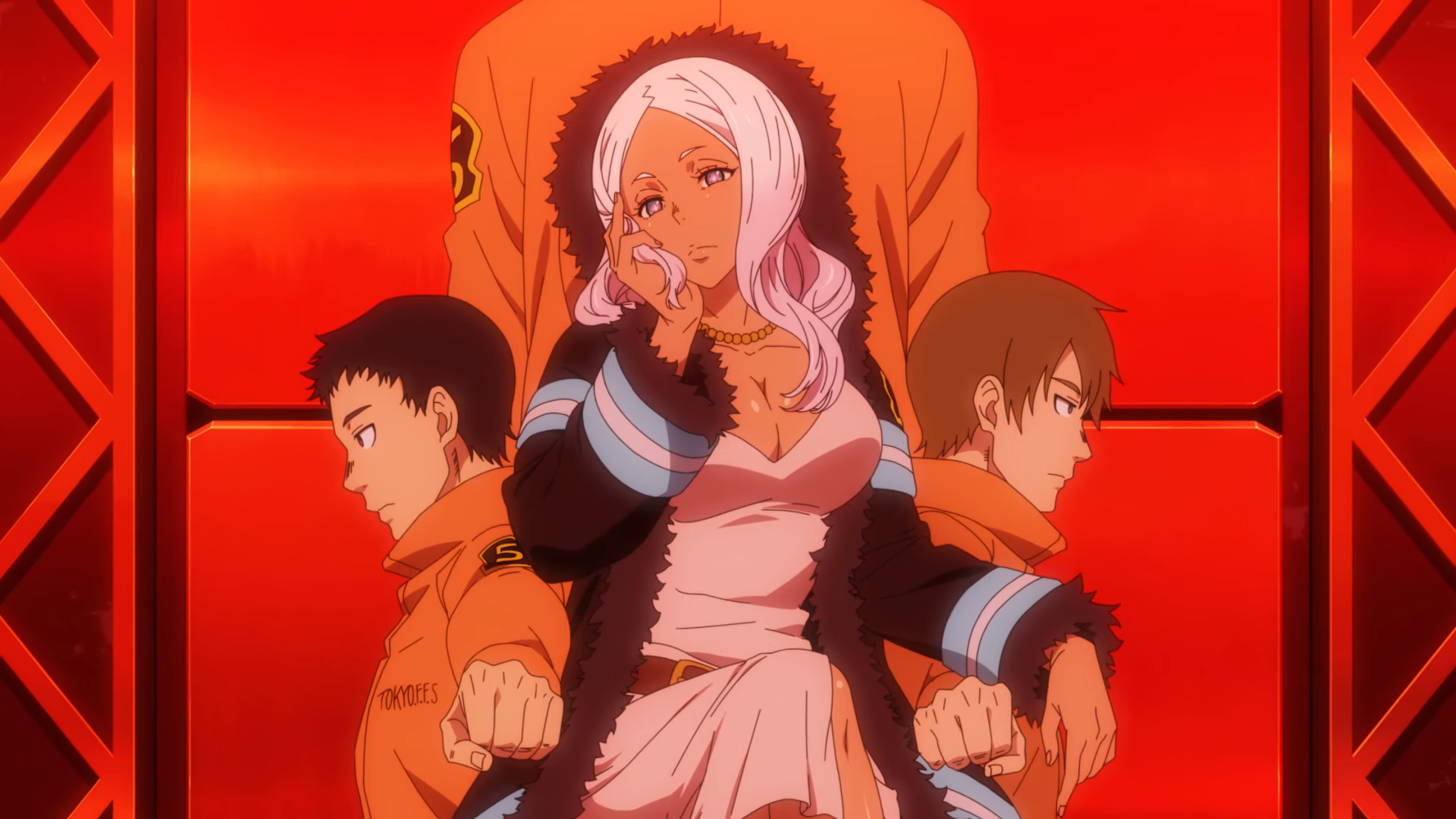 FIRE FORCE EP. 4: THE HERO AND THE PRINCESS