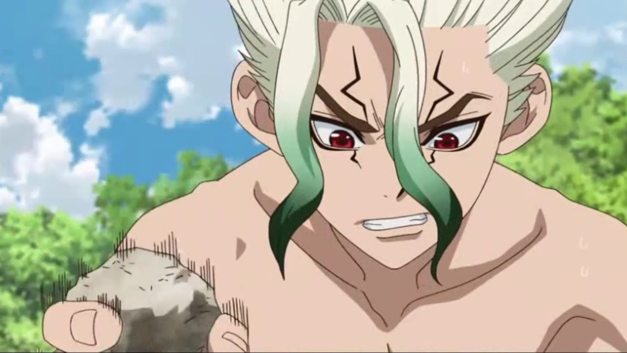 DR.STONE EP.5: STONE WORLD THE BEGINNING